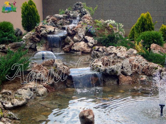 Aqua Centar - Spoljne - prirodne fontane